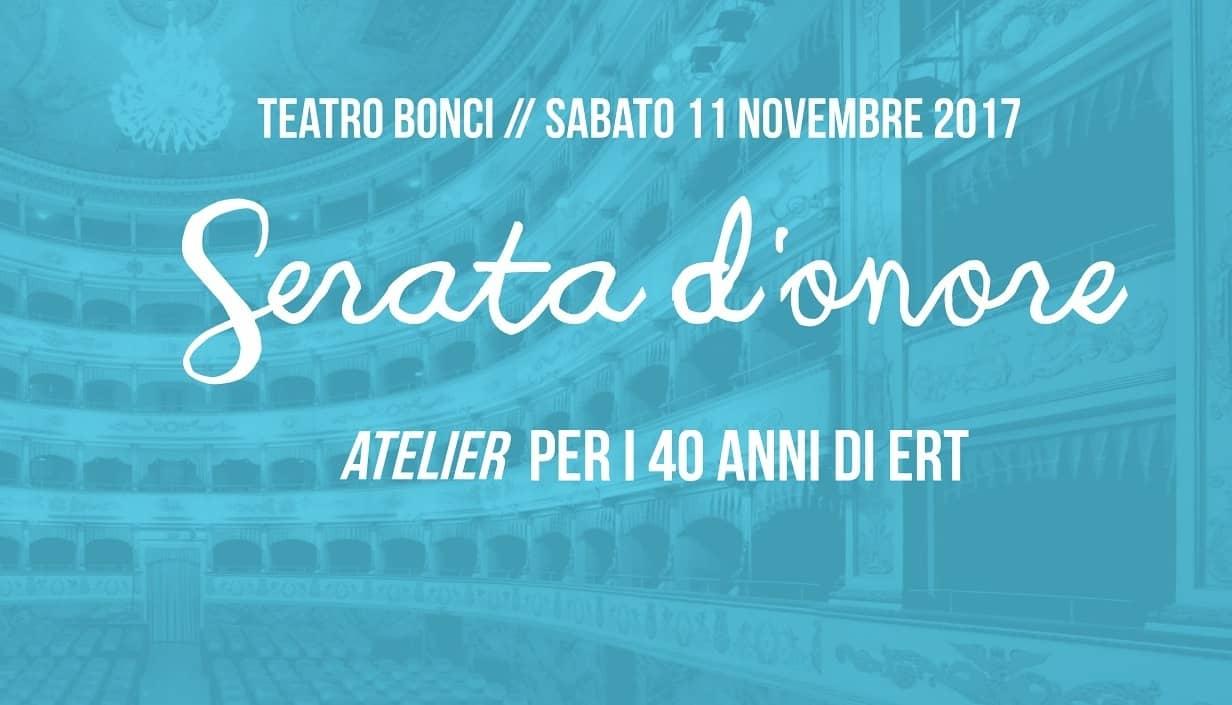 Serata d'onore per i 40 anni di ERT  -Cesena
