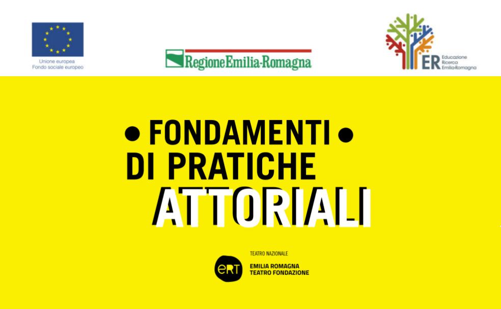 Elenco candidati ammissibili e relativa convocazione alle selezioni per il corso Fondamenti di pratiche attoriali