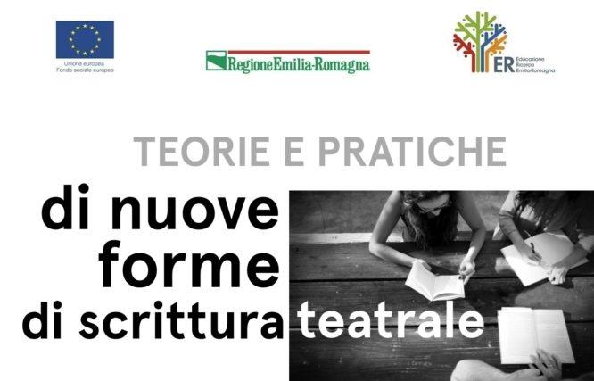 Proroga scadenza bando di selezione per il corso Teorie e pratiche di nuove forme di scrittura teatrale